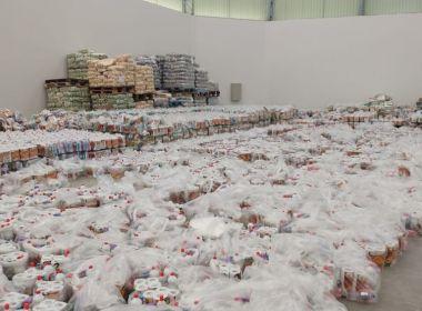 Com suspeita de compra de voto, PF apreende 10 mil cestas básicas no Roraima
