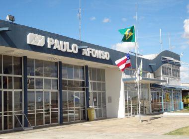 Governo da Bahia assume administração do aeroporto de Paulo Afonso
