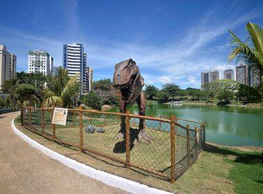 Sucesso da Lagoa dos Dinossauros obriga prefeitura de Salvador a restringir visitação