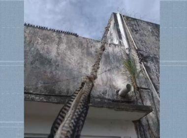 Presos fogem do Complexo da Mata Escura, em Salvador