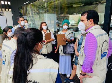 Vigilância Sanitária intensifica fiscalização para cumprimento de protocolos contra Covid-19 na capital