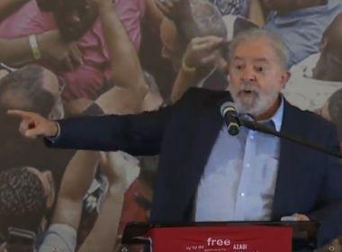 Em discurso, Lula faz contraponto a Bolsonaro e critica gestão da pandemia: 'Imbecil'