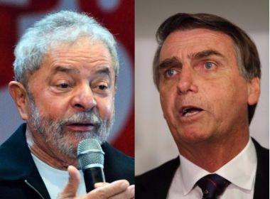 Maior parte dos brasileiros não se considera nem bolsonarista nem lulista, indica pesquisa