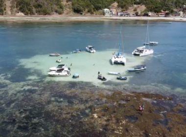 'Polinésia soteropolitana': Piscinas naturais encantam em Ilha dos Frades como APRN