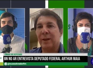 'Doria deveria se preocupar em pacificar' PSDB, diz Arthur Maia sobre pressão no DEM