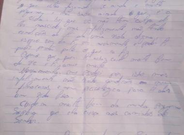 PM resgata bebê recém-nascido abandonado em Paripe; pais deixam carta