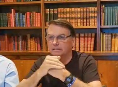 'Otto fica lá posando como o pai da medicina e humilhando mulheres', diz Bolsonaro