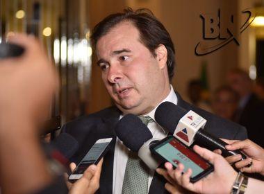 DEM anuncia expulsão de Rodrigo Maia do partido