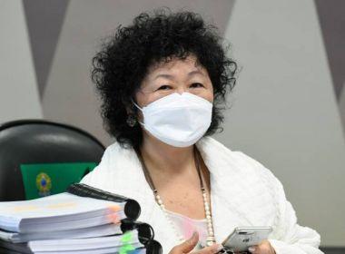 Nise Yamaguchi processa Otto Alencar por 'misoginia e humilhação' na CPI da Pandemia