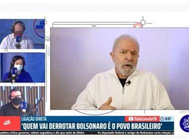 Lula usa metáfora para dizer que Ciro o ataca porque ele é maior: 'Ele fica olhando pra frente'
