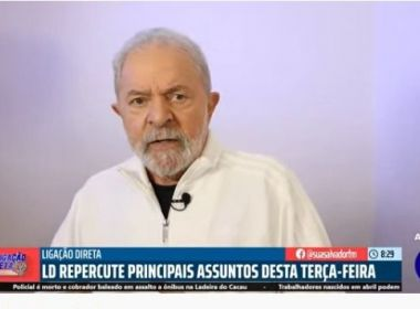 Contra voto impresso, Lula diz que eleição roubada foi a de Bolsonaro