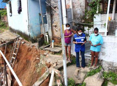 Famílias atingidas por desabamento em São Marcos são encaminhadas para Auxílio Moradia
