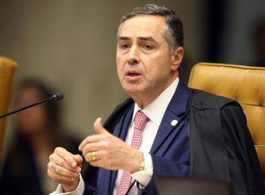 MINISTRO BARROSO RESPONDE BOLSONARO NAS REDES