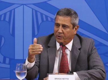 Braga Netto nega que tenha feito ameaça contra eleições de 2022