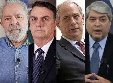 Paraná Pesquisas: Lula e Bolsonaro aparecem empatados, mas petista venceria no 2º turno