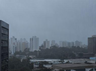 Tempo instável e chuvas devem permanecer em Salvador até dia 12