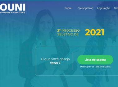 Inscrições para lista de espera do ProUni estão abertas nesta terça e quarta