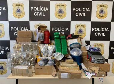 Drogas que seriam enviadas pelos Correios são apreendidas em Salvador