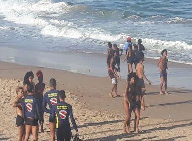 Homem desaparece enquanto tomava banho de mar na praia de Amaralina
