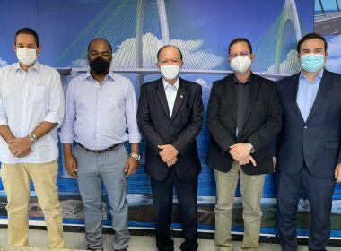 Samuel Jr. e Alex Santana afinam diálogo com cúpula do PP na Bahia