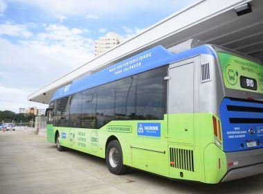Salvador inicia nesta terça testes com ônibus elétricos em linhas do BRT