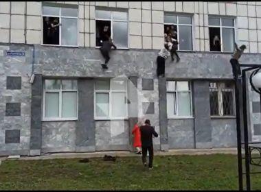 Atirador mata ao menos oito pessoas em universidade na Rússia e é preso