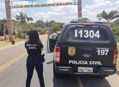 Andaraí: Polícia prende autor confesso de feminicídio