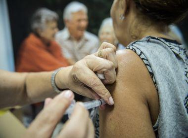 Vacinação contra gripe é estendida para toda população a partir de segunda