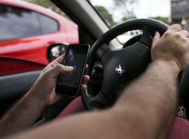 Pesquisa do Ministério da Saúde revela que um a cada cinco motoristas usam celular ao dirigir