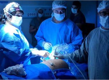 Fato inédito: Hospital realiza cirurgia em bebê ainda no útero da mãe; entenda