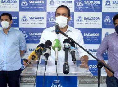 Prefeitura prevê 570 mil doses de vacina para grupos prioritários de Salvador