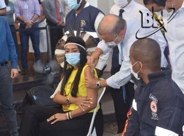 Segunda dose da Coronavac começa a ser aplicada na próxima segunda-feira na Bahia