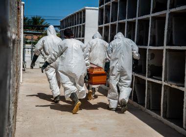 Após recorde na quarta, mortes por Covid-19 têm queda na Bahia; nº de internados sobe