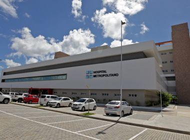 Hospital Metropolitano ativará mais 30 leitos e vai operar com 100% da capacidade