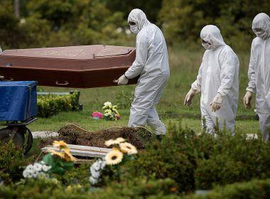 Boletim da Covid-19 confirma mais 65 mortes por Covid-19 na Bahia neste domingo