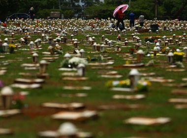 Brasil chega a marca de 590.508 mortes pela Covid-19; SP lidera registros